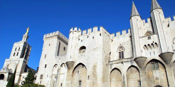 Der Palast der Päpste in Avignon
